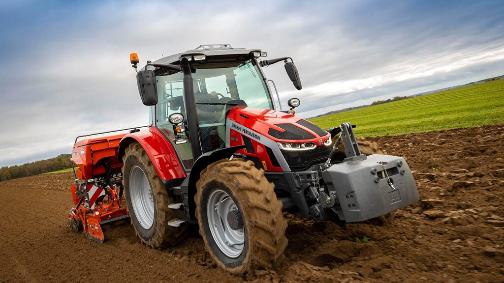 Massey Ferguson launches new 105-145hp 5S tractor range
