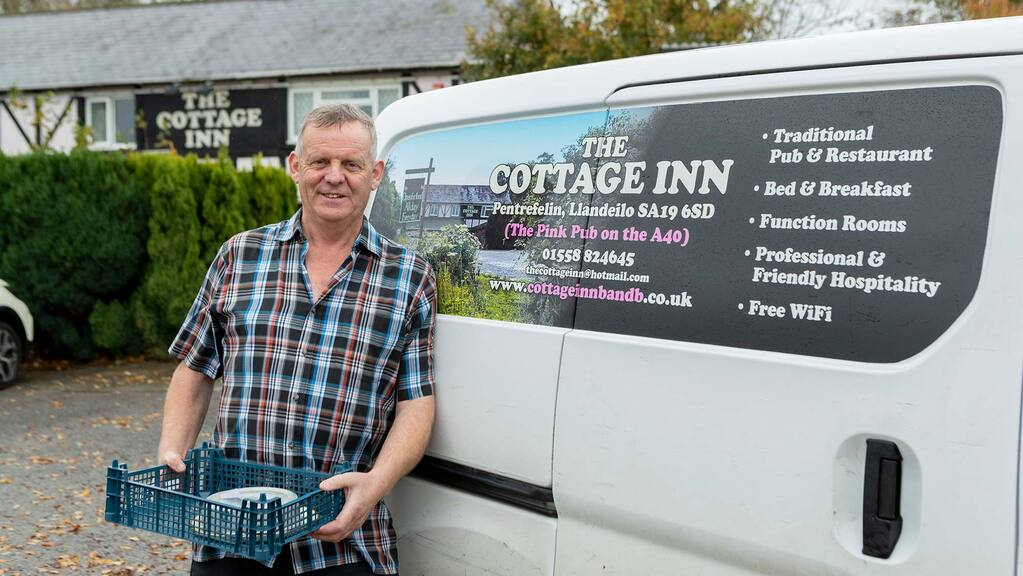 Backbone of Britain: Local 'meals on wheels' service a hit for rural residents in lockdown