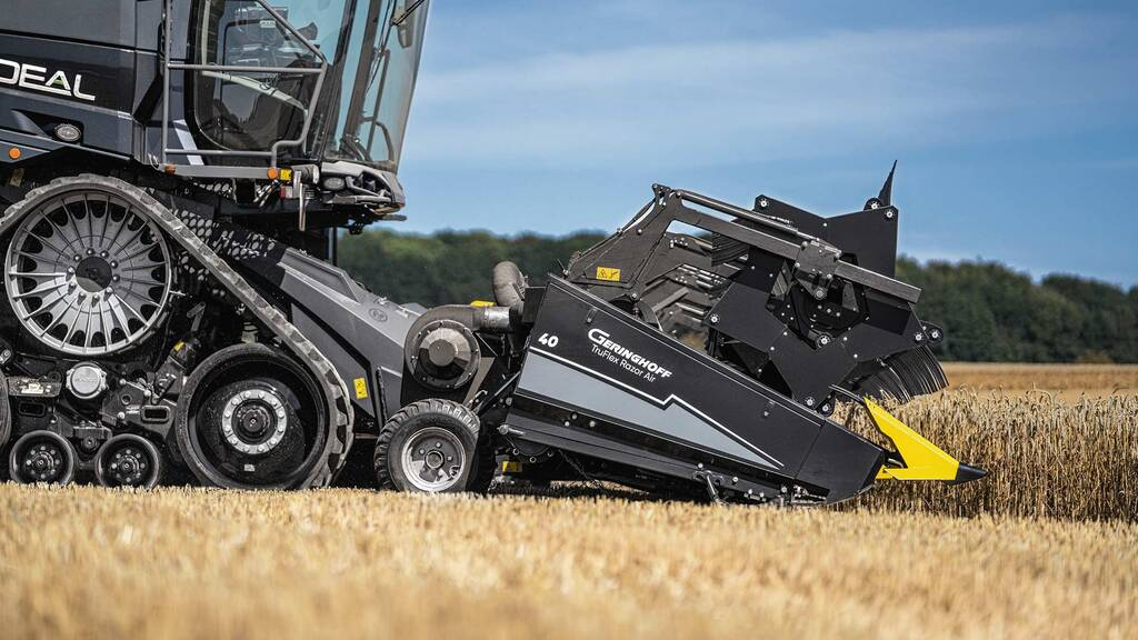 Agco offers more combine header options as it partners with Geringhoff