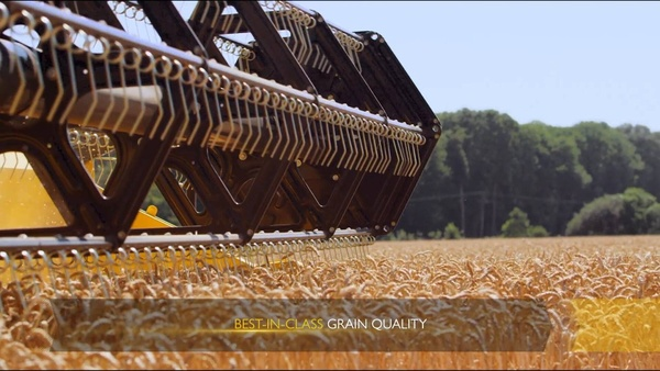 New Holland CH combine. The Best of Both Worlds