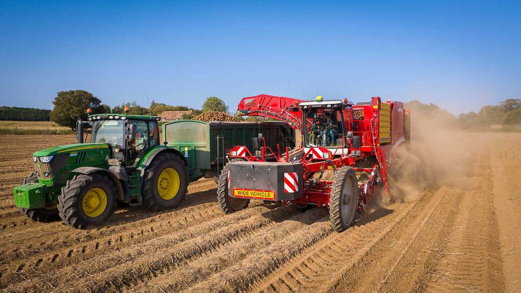 Understanding potato productivity better with yield mapping
