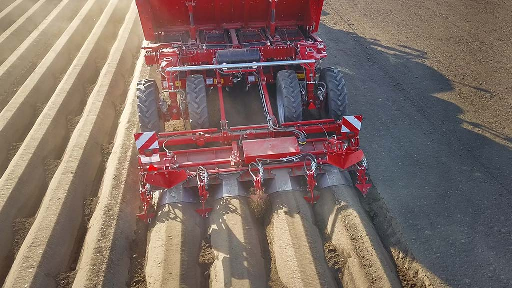 New additions for Grimme four-row potato planters