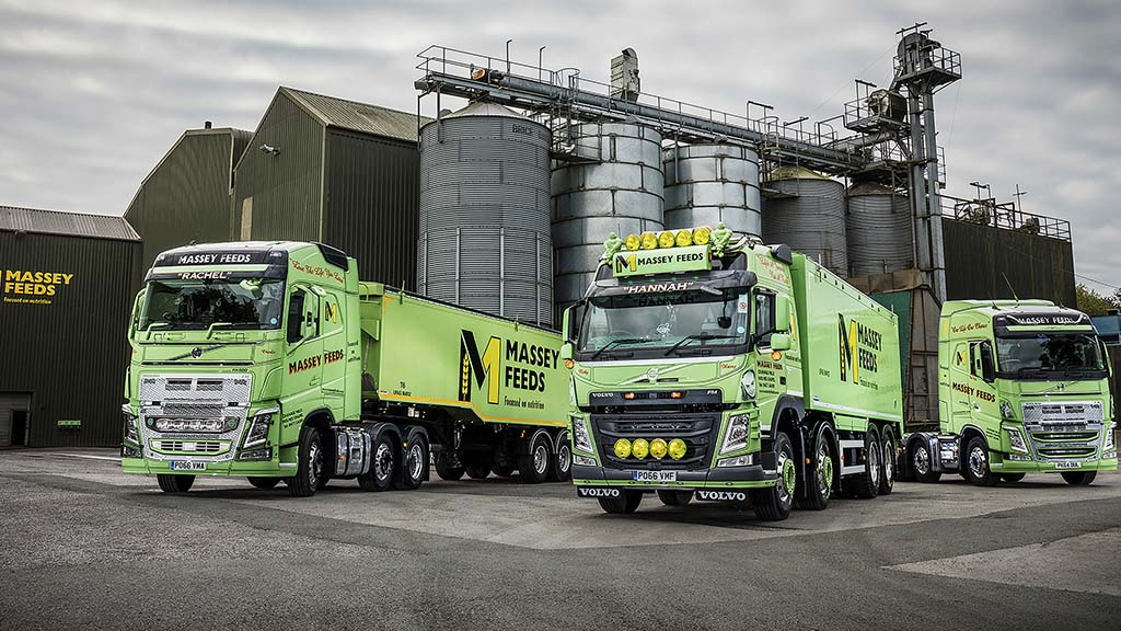 Massey Feeds has slashed fuel emissions per tonne delivered by 80%
