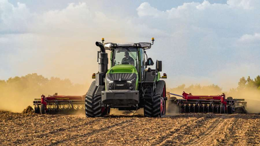 Fendt 1100MT Tracked Tractor