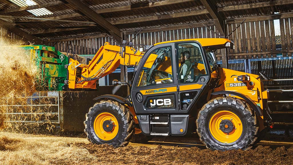 More power and transmission options for latest JCB Series 3 Loadalls