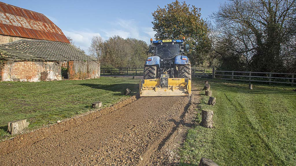 Top tips: A look at what is involved in farm track renovation