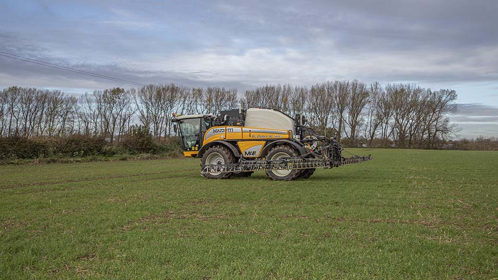 User review: Mazzotti MAF3580 self-propelled sprayer