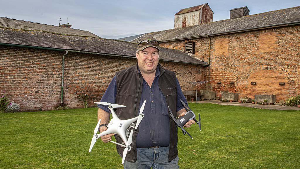 Graham Potter says making use of technology is contributing to higher gross margins on the 200ha family farm.