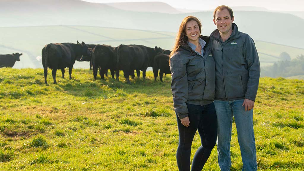 Couple turn derelict farm into thriving direct sales venture