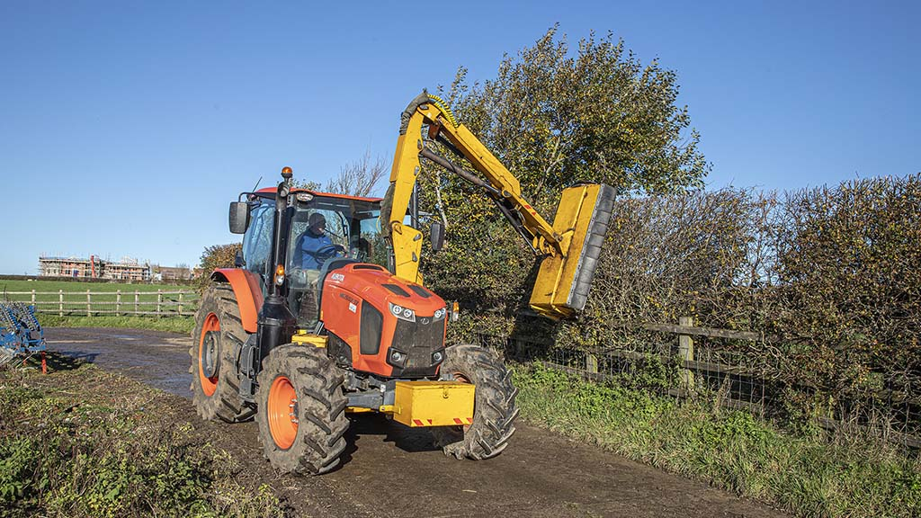 User review: Kubota tractor perfect match for mid-mount McConnel hedgecutter