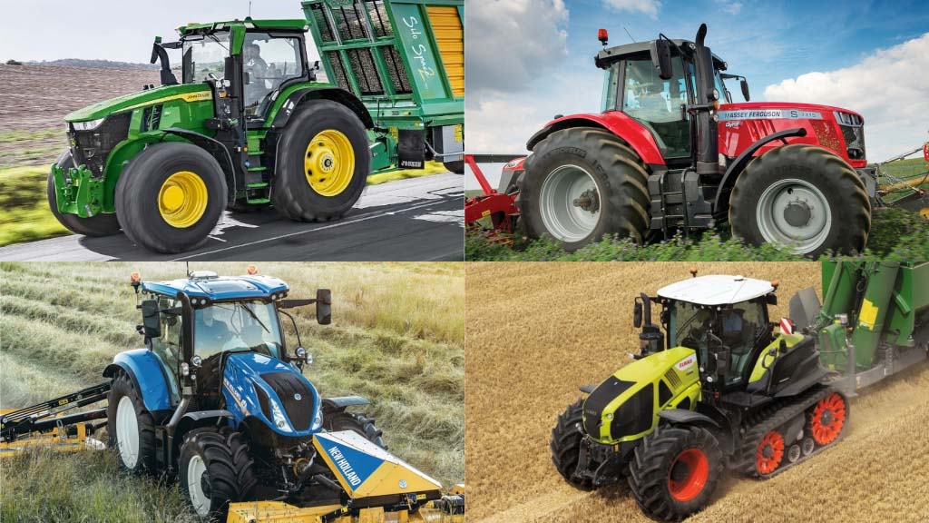 Claas and Massey Ferguson tractor registrations grow as John Deere and CNH's take a dip