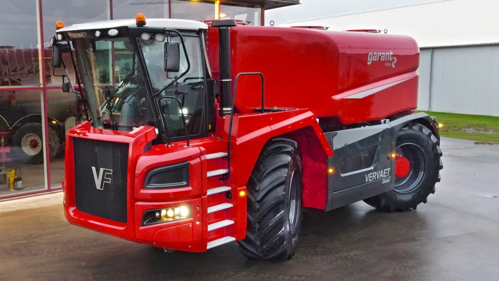 Vervaet launches 21cu.m capacity four-wheeled self-propelled slurry applicator