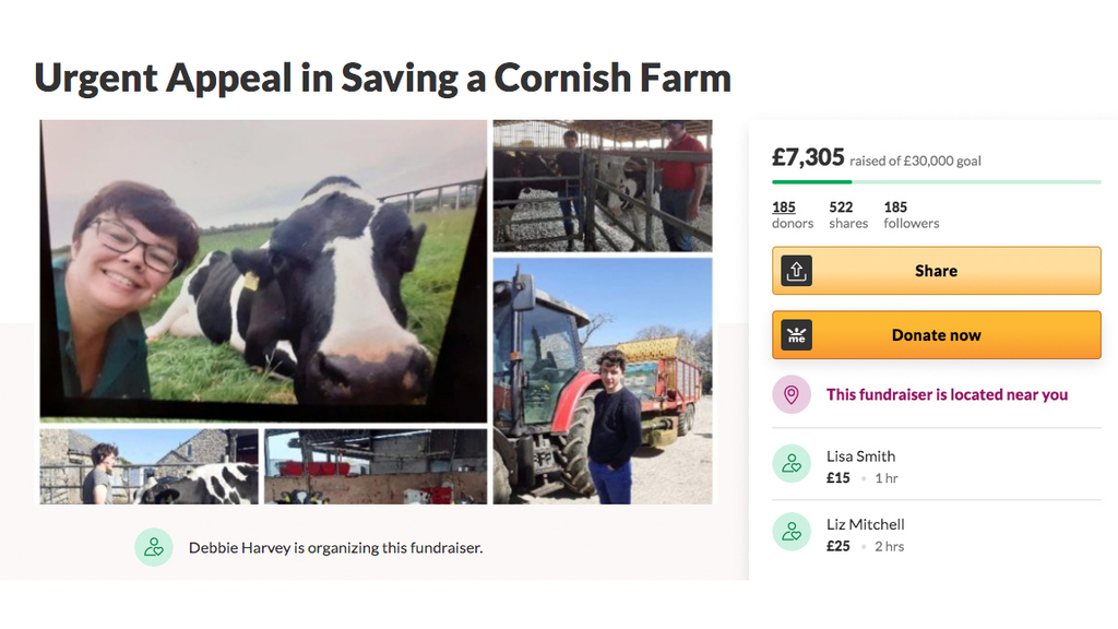 GoFundMe appeal to save dairy family farm struck by TB nightmare