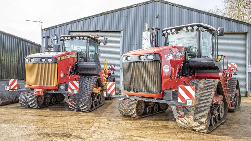 User review: Oxfordshire grower shares opinion on his Versatile Delta Track tractors