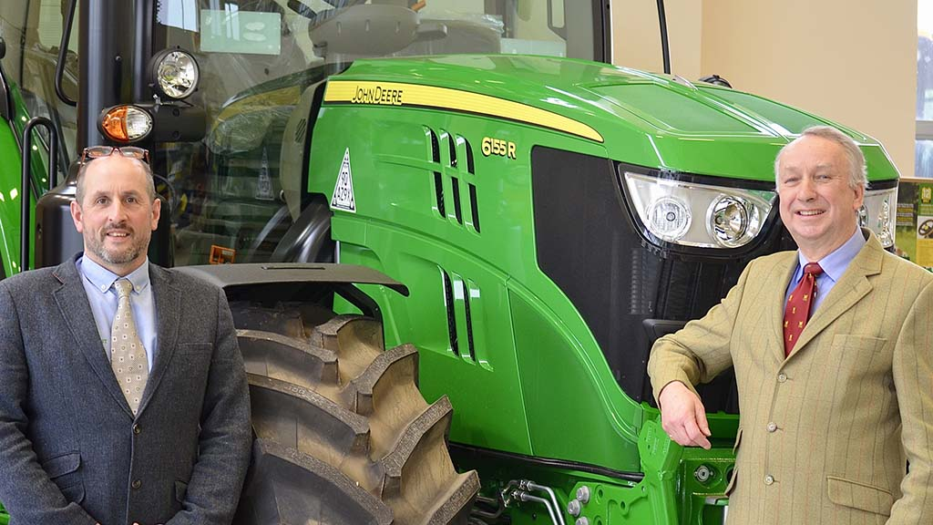 Tim Hunt (left) and Colin Smart have agreed the sale of C Smart Agricultural Services to Hunt Forest Group.