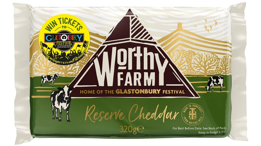 Glastonbury Festival farm launches cheese