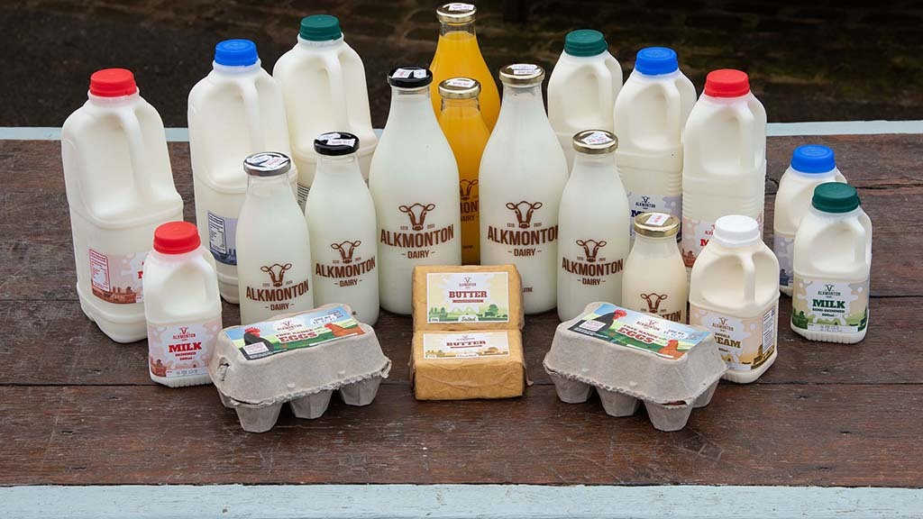 Products produced by Alkmonton Dairy