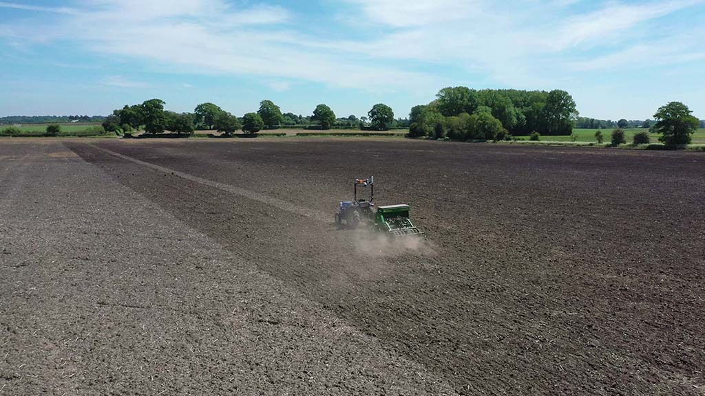 The Hands Free Farm faced many of the same issues as other arable farms in 2020, but finally got a winter crop drilled.