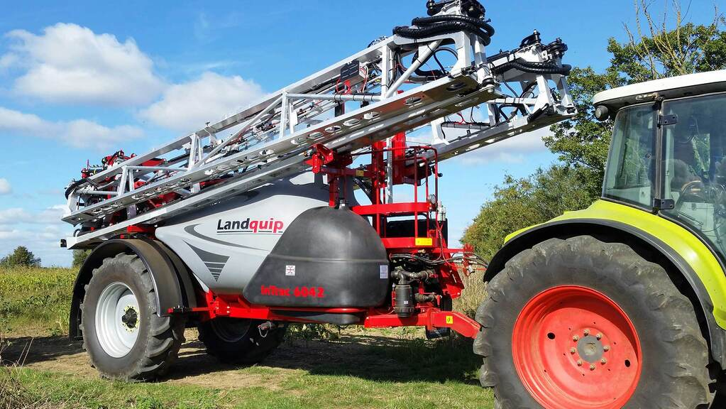 User review: High capacity, trailed Landquip sprayer providing the ideal flexibility