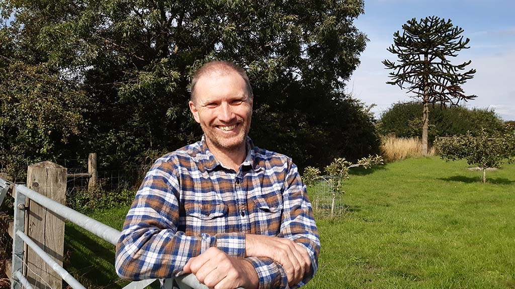 Backbone of Britain: Farmer uses his own mental health experiences in counsellor role
