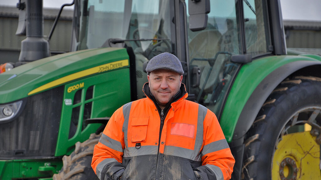One of the four men responsible for the day-to-day running of Valefresco is Nick Mauro, who with business partner Joe Pilade, manage the company's outdoor farming facility at Stratford.