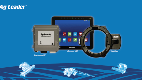 Aftermarket auto-steer systems from AgLeader