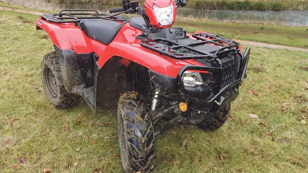 Organised gangs target farm quad bikes
