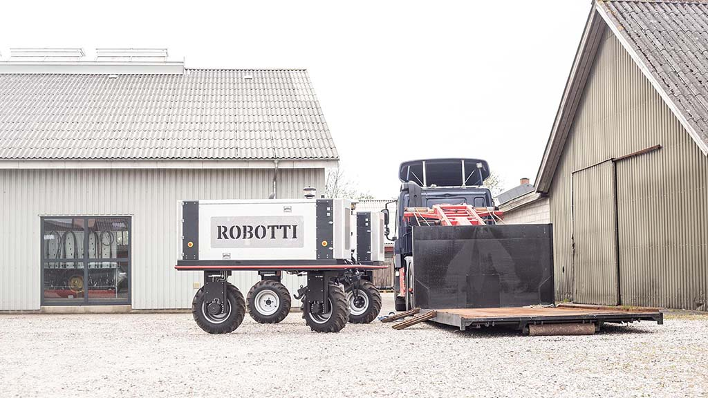 Originally founded as a robotic research program in 2014, Agrointelli received a 14.5m Euro grant from the Danish Government last year for the purpose of putting the Robotti into full production.