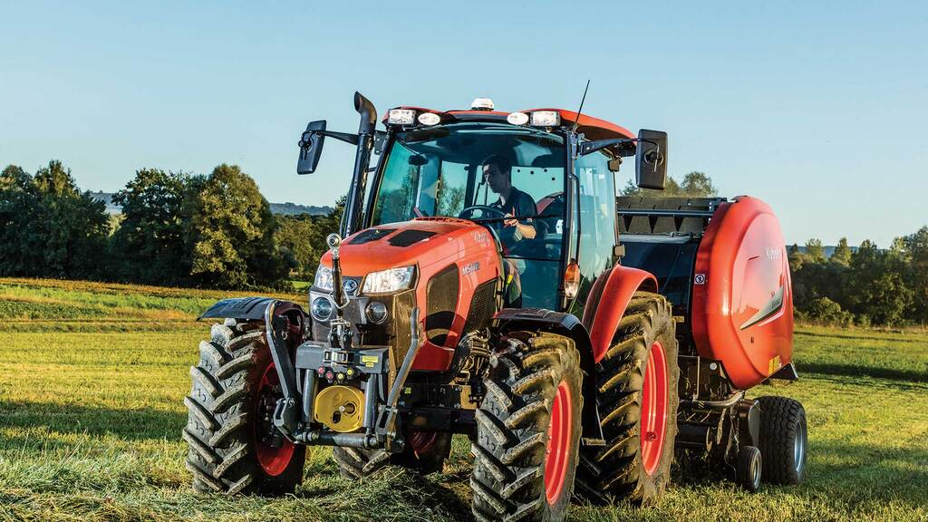 Performance and emissions updates for Kubota's M4 and M5 tractor ranges
