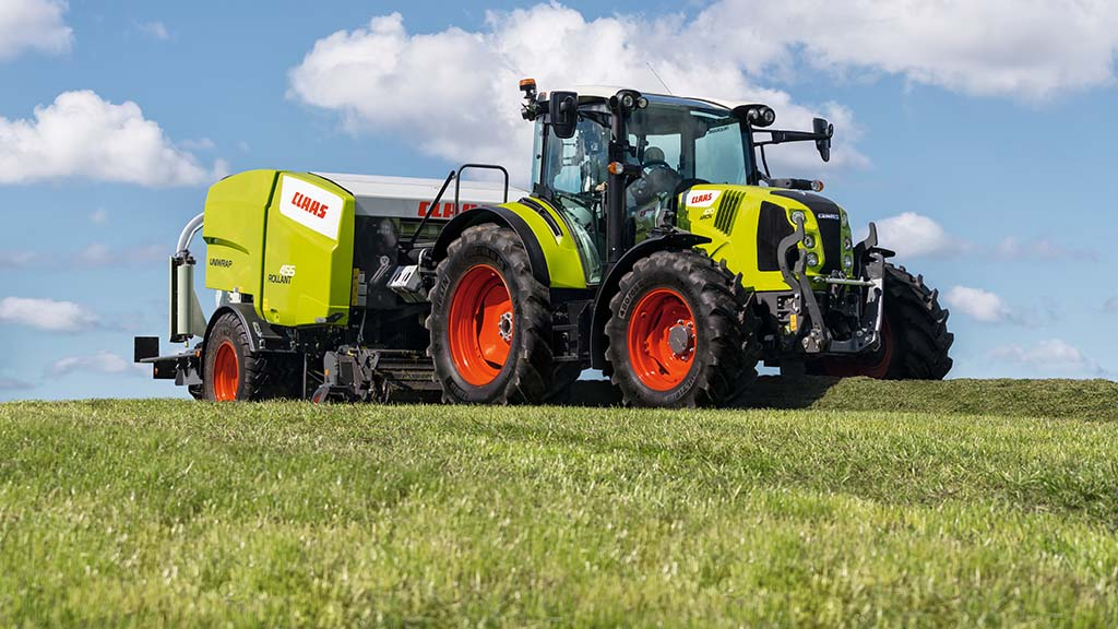 Claas introduces new 155hp model to updated Arion 400 tractor series