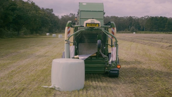 Andy Walker: Why Krone balers are perfect for his operation