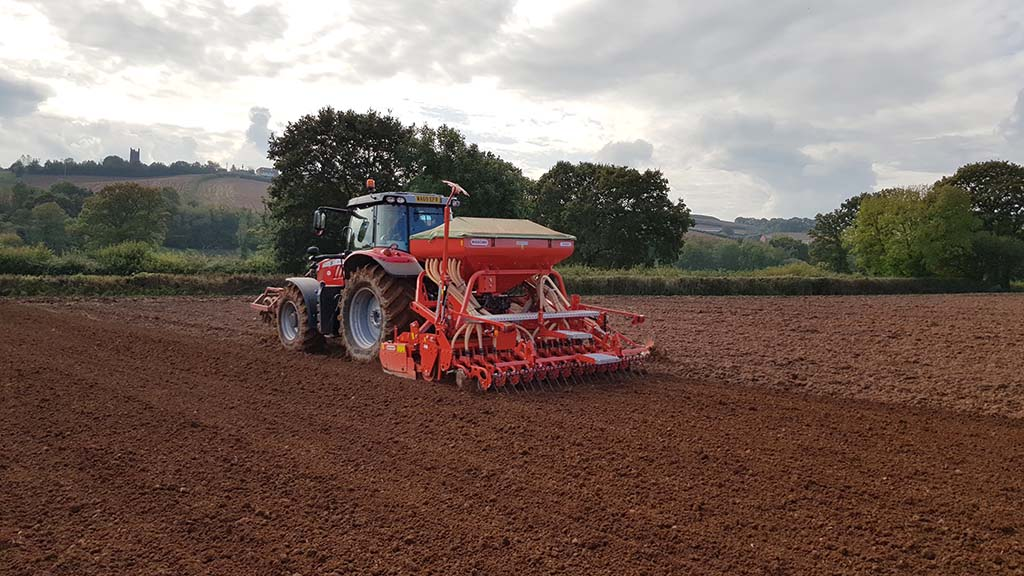 A Maschio Alitalia drill and power harrow combination is proving to be a flexible solution.