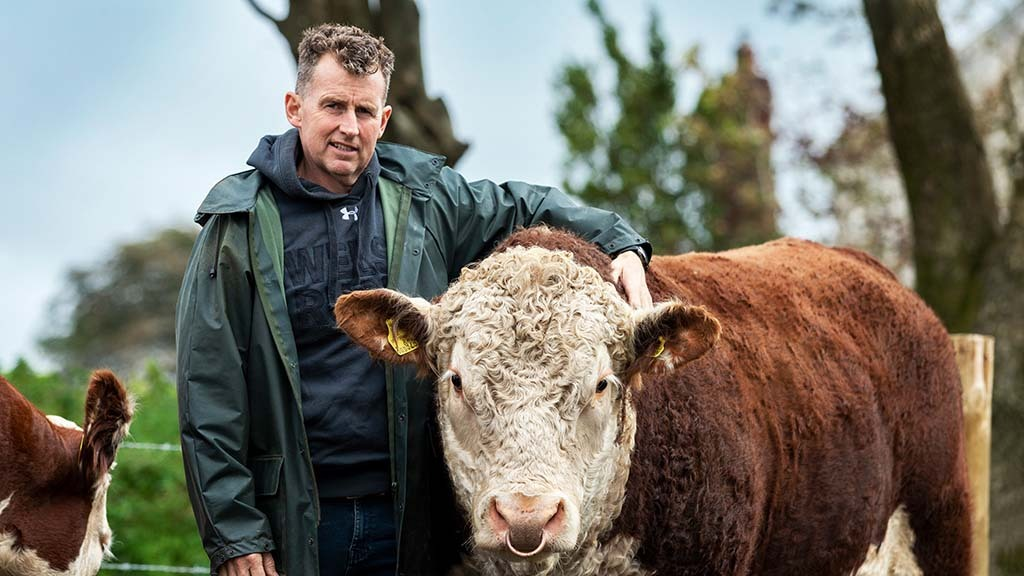 Rugby icon Nigel Owens on his new beef venture