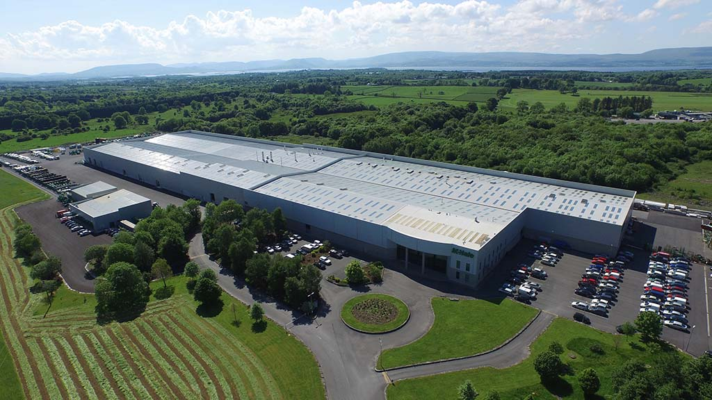 The McHale Factory at Ballinrobe.