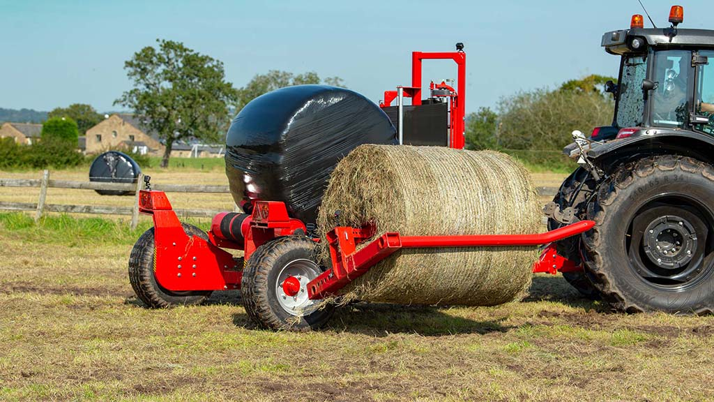 Review: Vicon's latest heavy-duty round bale wrapper put to the test