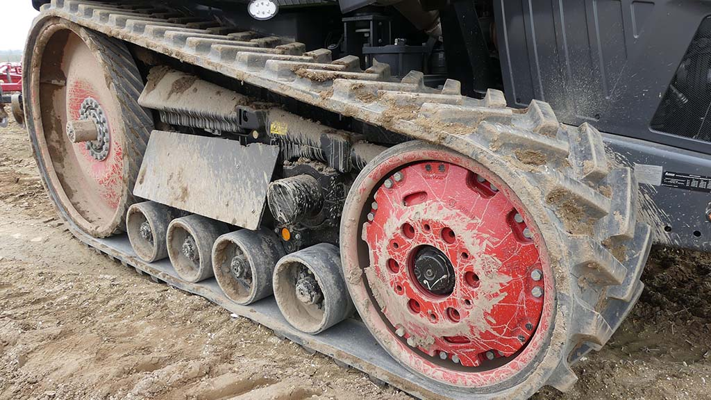 Track units and undercarriage