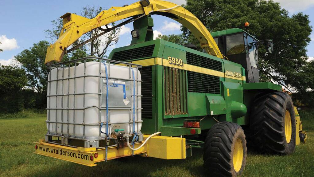 Top tips: Best additive applicator placement on forage equipment