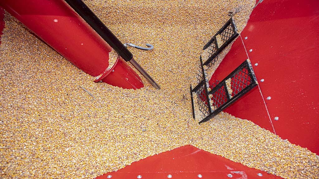 Auger throat and flow control need refining to improve transfer of wetter material.