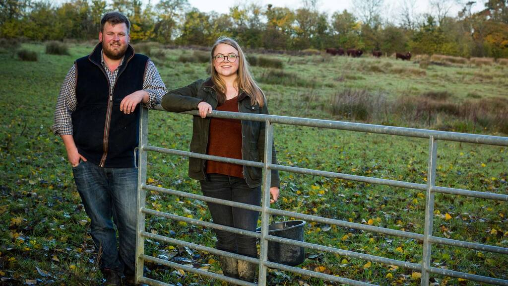 In your field: James and Isobel Wright - 'We welcomed our son into the world and then the cows started calving'