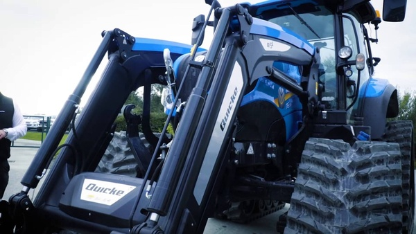 Murray Introduces a special tractor with a new loader.