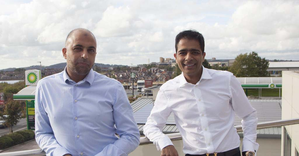 Asda Issa brothers, Zuber (left) and Mohsin. Credit: EG Group