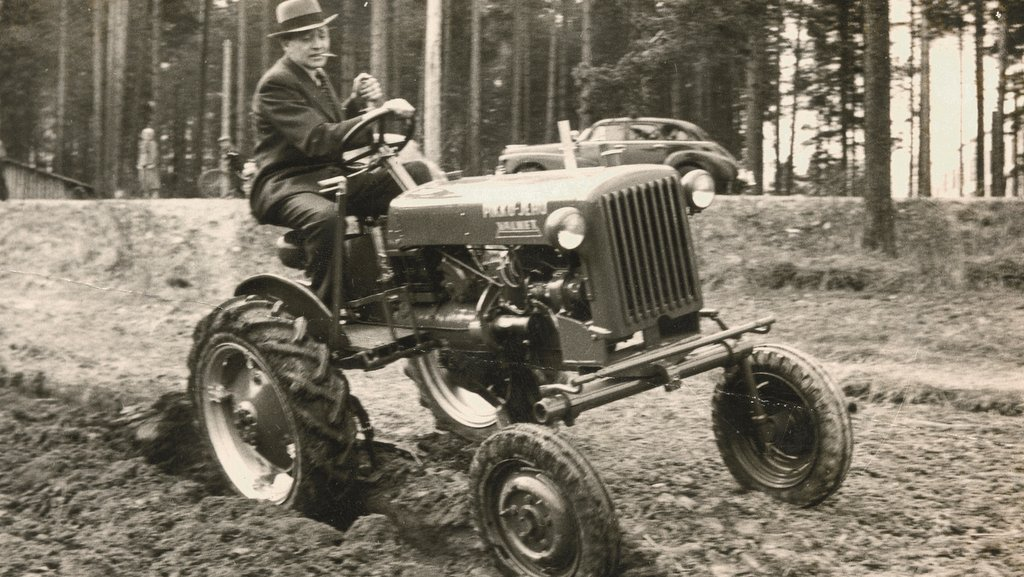 The Valtra story started in 1951 with the introduction of the Little John (above). Today, Valtra is known for producing high-specification modern tractors like the four-cylinder N Series (below).