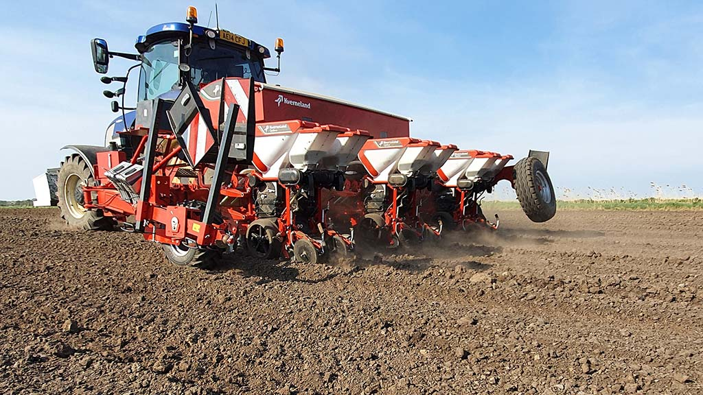 User review: Customised Kverneland planter providing multi-crop planting versatility