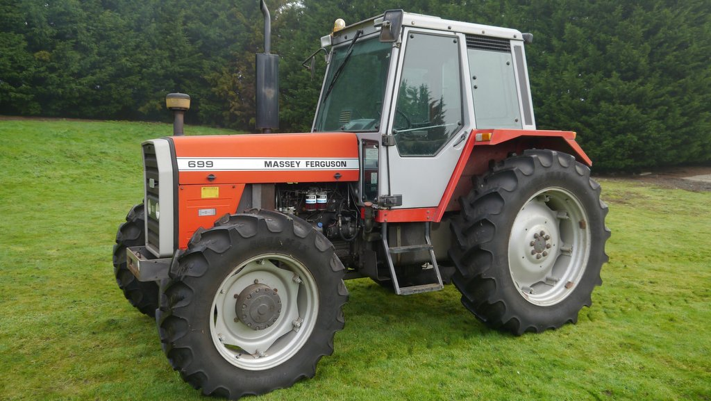 This classic of a Massey Ferguson 699 was snapped up for £16,750