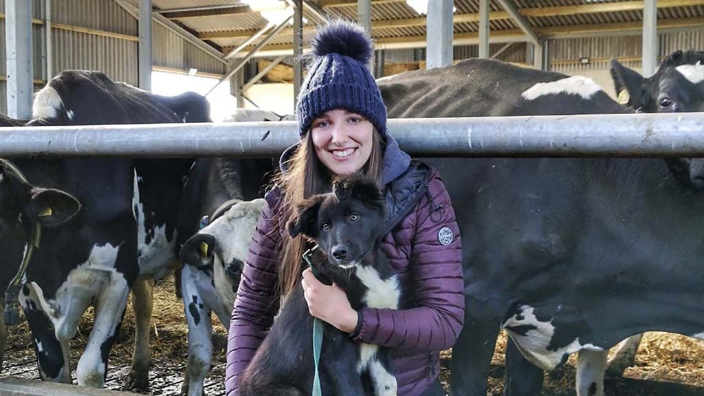 Young farmer focus: Abigail Woodhouse - 'Agriculture was the right direction to follow'