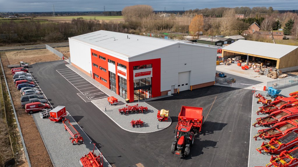 The new depot at Market Weighton, on a two hectare site and representing a £3m investment.