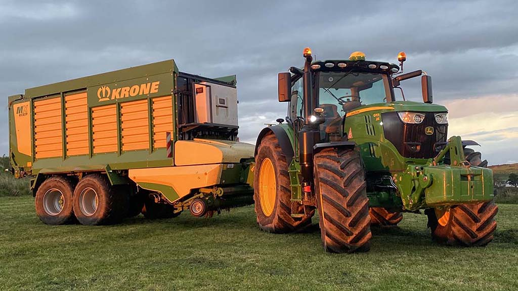 User review: Maximising grass potential using a Krone MX forage wagon