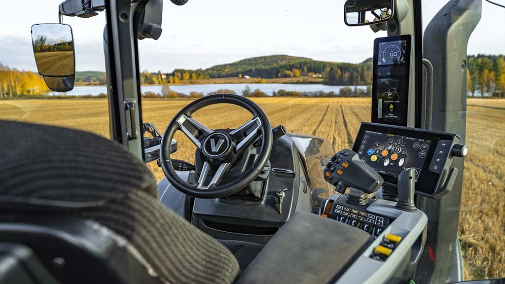 The cab is where most changes have taken place, with the dash moving from the steering column to the A-pillar.