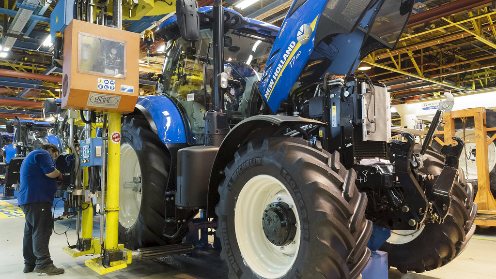 What effect will Brexit have on New Holland and its UK customers?