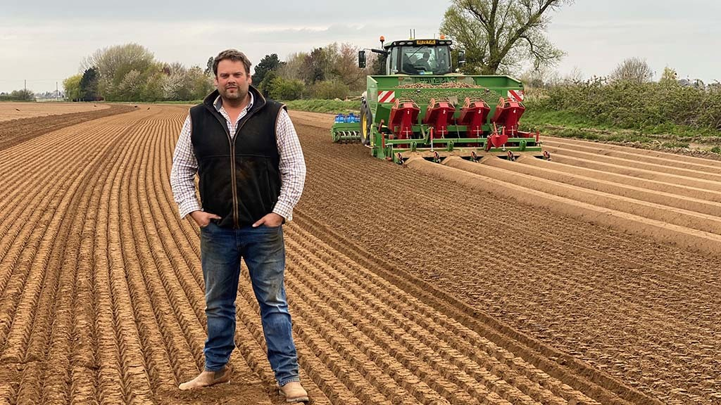 In your field: James Lacey - 'I am extremely excited about the new flower harvester I have built'